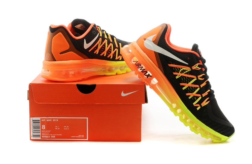 Nike Air Max 2015 (orange/green/black)