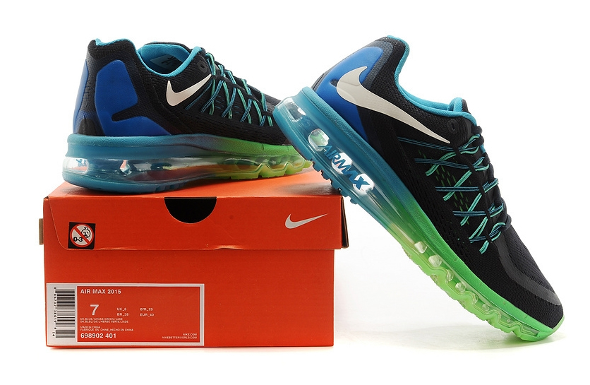 Nike Air Max 2015 (blue/black/green)