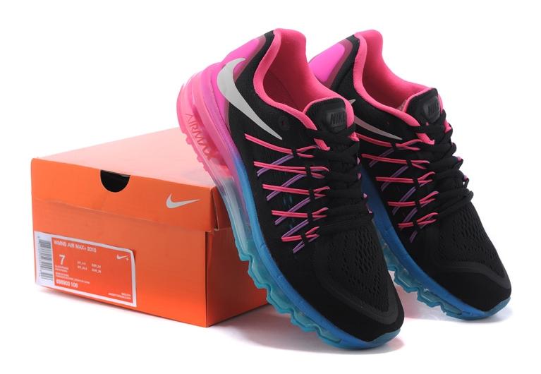 Nike Air Max 2015 (black/pink/blue)