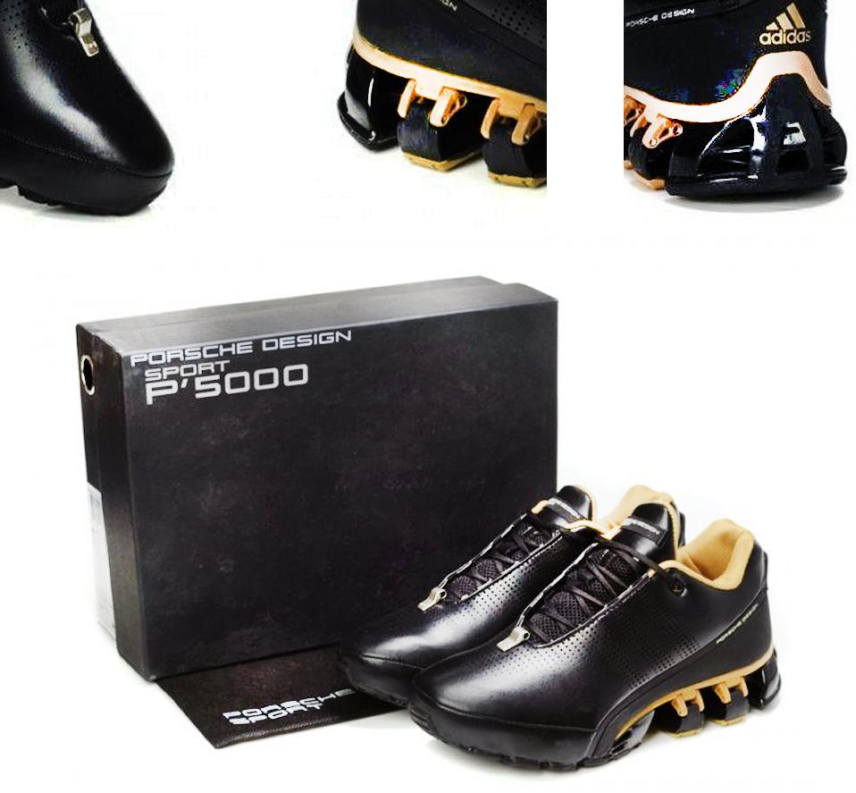 Черные кроссовки Adidas Porsche Design Sport P'5000 leather