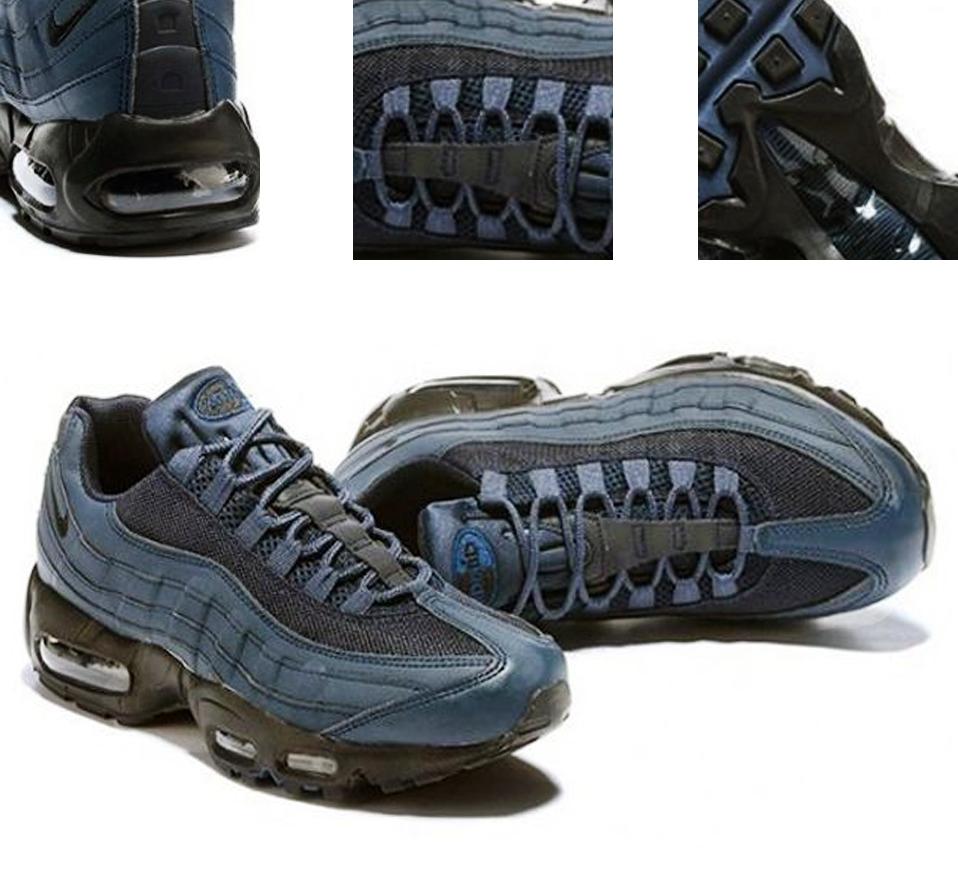 Nike Air Max 95 «Obsidian Neon» (dark blue)