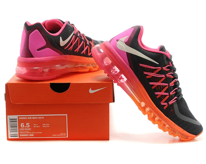 Nike Air Max 2015 (black/pink/orange)