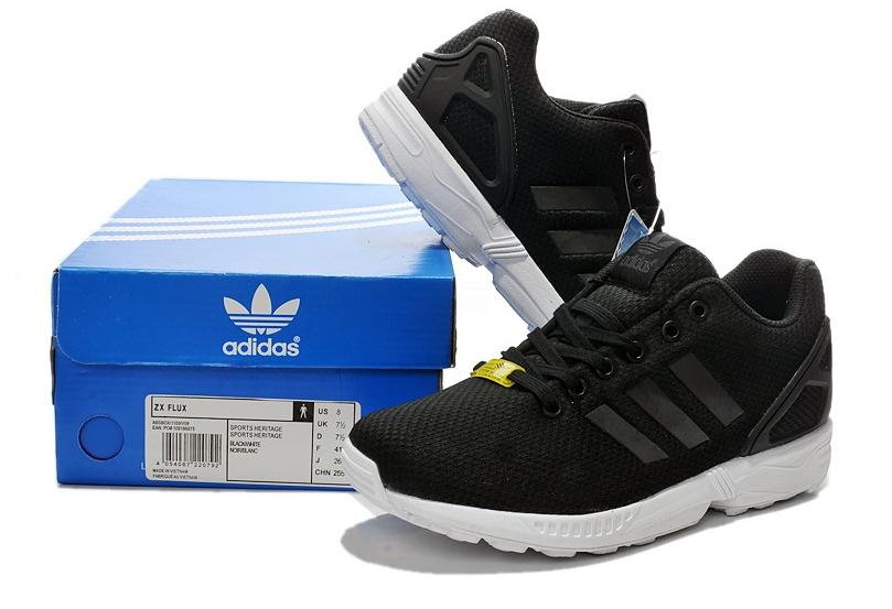 Adidas ZX Flux (Black/White)