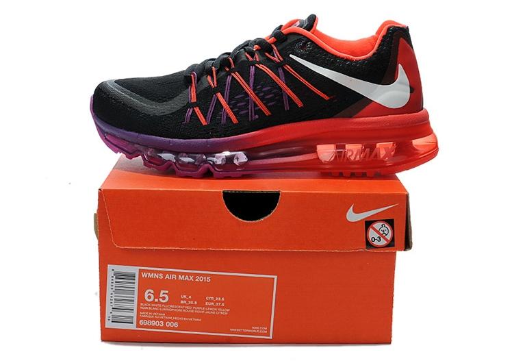 Nike Air Max 2015 (black/purple/red)