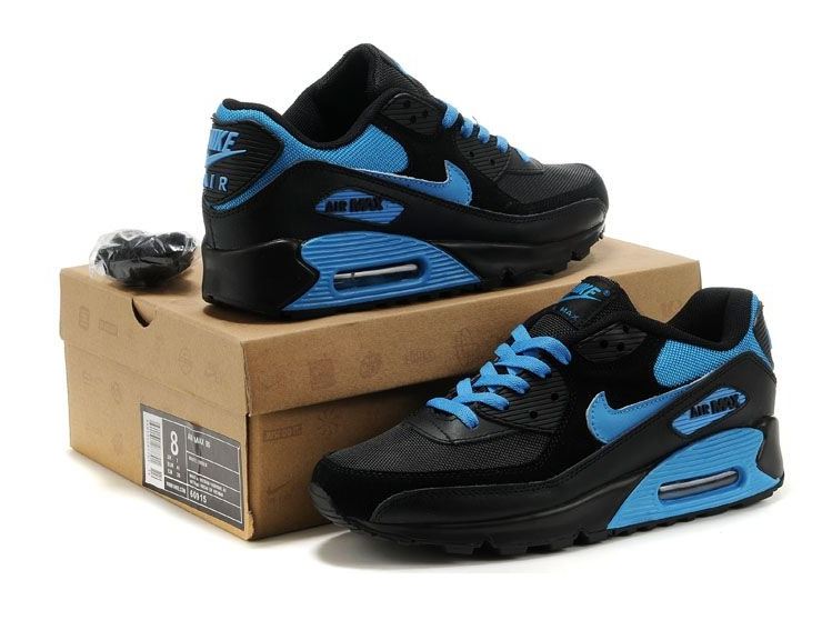 Nike Air Max 90 (Black/Blue)
