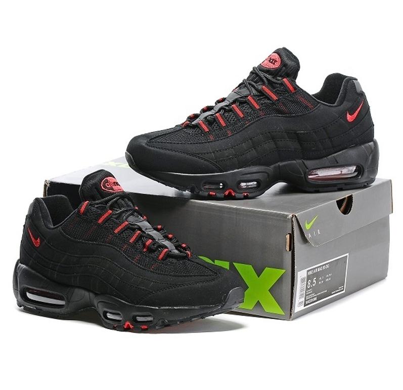 Nike Air Max 95 (Black University Red)